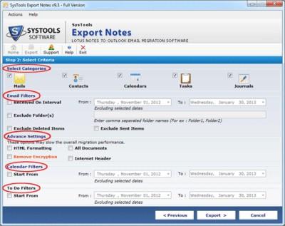 NSF to PST 9.4 screenshot