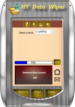 NT Data Wiper 2.2 screenshot