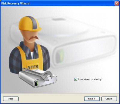 NTFS Data Recovery - Data Recovery Software 2.3.5 screenshot