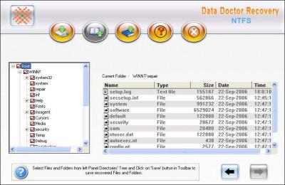NTFS Hard Drive Files Recovery Tool 3.0.1.5 screenshot