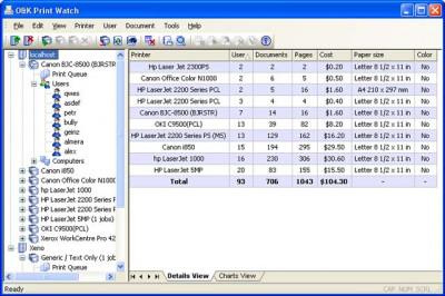 O&K Print Watch 4.7.0.3223 screenshot