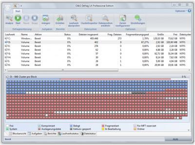 O&O Defrag 14  Professional Edition 14.5 screenshot