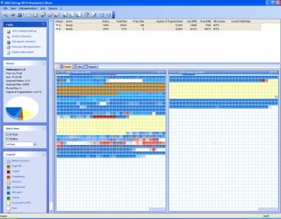 O&O Defrag Professional Edition 8.0 screenshot