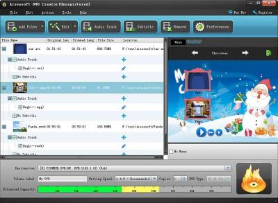 Oasis DVD Creator 3.0.0 screenshot