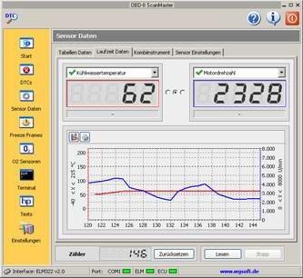 OBD-II ScanMaster Professional 1.0 screenshot