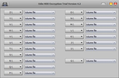 Odin Hard Disk Drive(HDD) Encryption 9.8.4 screenshot