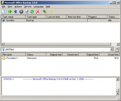 Office-Backup 2.5 screenshot