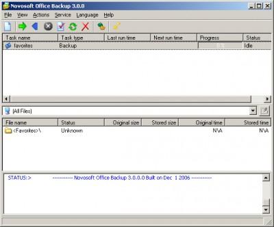 Office Backup 2.5 screenshot