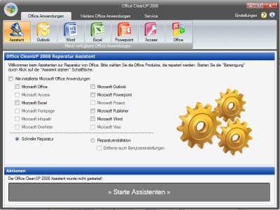 Office CleanUP 2006 2.1 screenshot