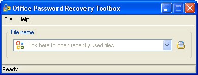 Office Password Recovery Toolbox 4.0 screenshot