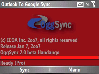 OggSync 10.0.0 screenshot