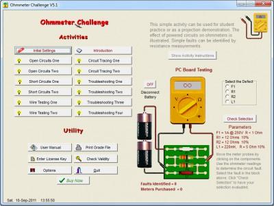 Ohmmeter Challenge 5.1 screenshot