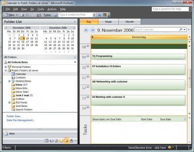 OLfolders PE 3.4.2 screenshot