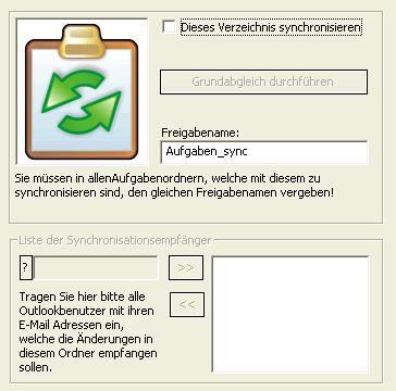 OLTaskSync 1.31 screenshot