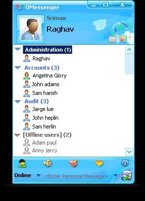 OMessenger 7.0.61 screenshot