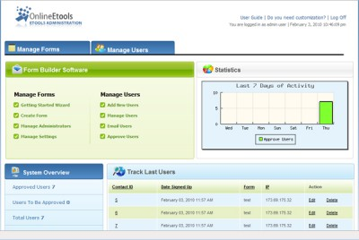 Omnistar Forms 3.2 screenshot