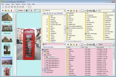 One Cat File Manager 4.0.1 screenshot
