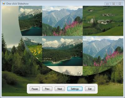 One-click Slideshow 1.3 screenshot