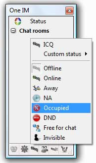 One Instant Messenger 5.1.0 screenshot