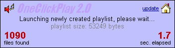 OneClickPlay 2.0 screenshot