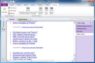 OneNote Gem - Favorites 25.5.0.103 screenshot