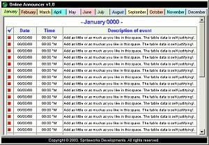 Online Announcer 1.1 screenshot