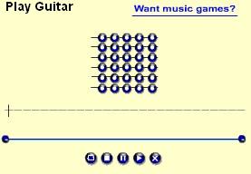 Online guitar 005 screenshot