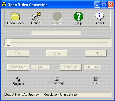 Open Video Converter 3.3.0.1158 screenshot