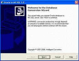 Oracle-to-MSSQL 5.1 screenshot