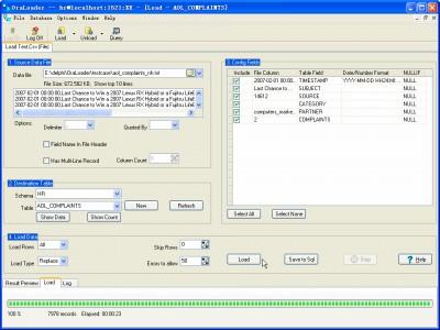 OraLoader 5.5 screenshot