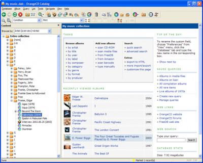 OrangeCD Suite 6.5.8 screenshot
