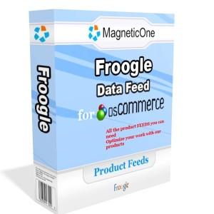 osCommerce Froogle Data Feed 3.0 screenshot