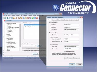 Outlook Connector for MDaemon 2.2.5 screenshot
