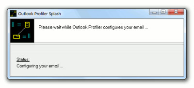 Outlook Profiler 2.6.0.3 screenshot