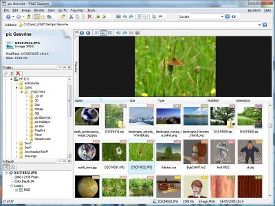 P3dO Explorer 2.5 screenshot