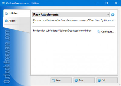 Pack Attachments for Outlook 4.8 screenshot