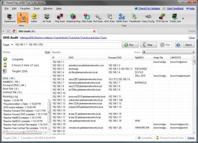PacketTrap DNS Audit 2.3.8 screenshot