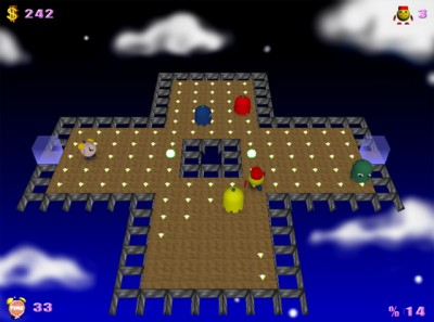 PacMan Adventures 3D 2.052 screenshot