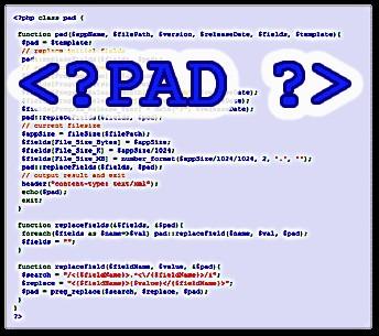 PAD-Script 101.502a screenshot