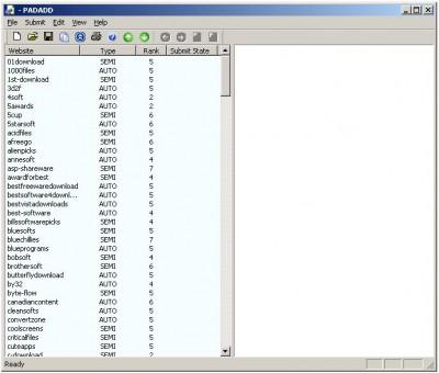 PADADD 2.5.1 screenshot