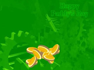 Paddys Gold Factory Patricks Wallpaper 1.0 screenshot