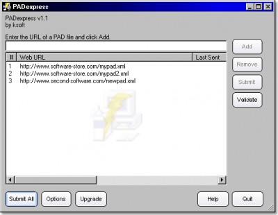 PADexpress 1.53 screenshot