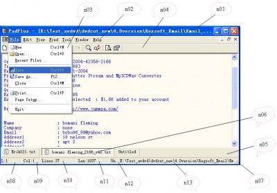 PadPlus 1.11 screenshot