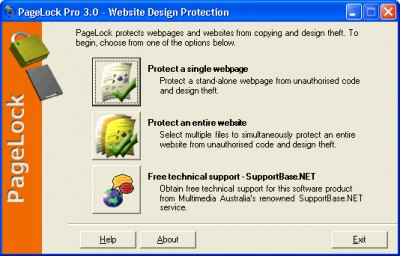 PageLock Website Copy Protection 8.0.0 screenshot