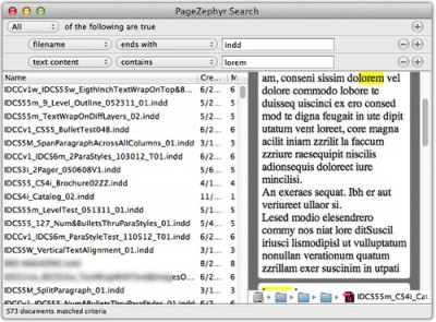 PageZephyr Search 3.06 screenshot