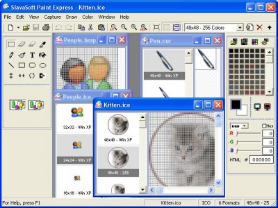 Paint Express 1.31 screenshot