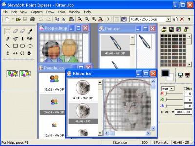Paint Express 1.31 screenshot