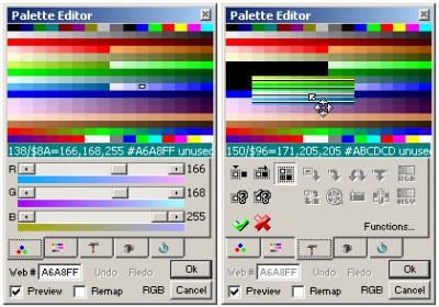 Palette Editor Plugin for Pro Motion 1.0 screenshot