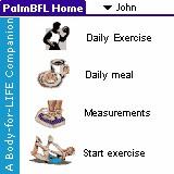 PalmBFL:The Body for LIFE Companion 6.3.2 screenshot
