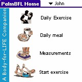 PalmBFL:The Body for LIFE Companion 6.4c screenshot